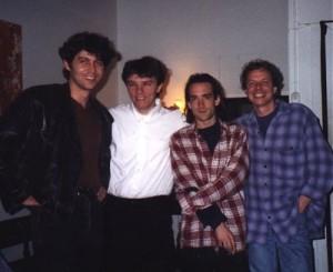 Martijn Kalf, Matthieu Brandt, Jack Starkey & Gerrit Berkouwer